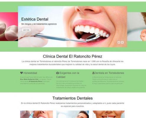 Proyecto Diseño web - Clinica Dental