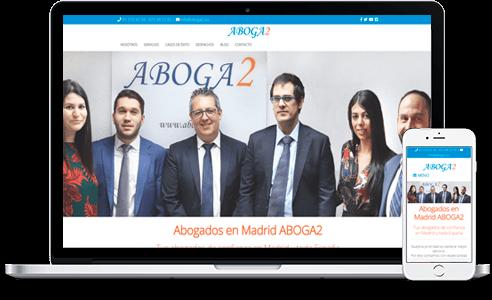 Diseño web para Abogados Madrid