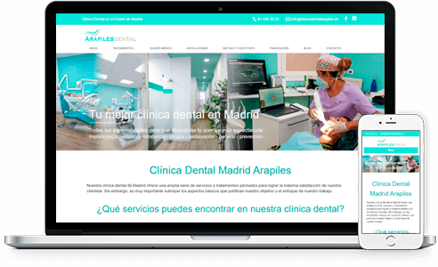 clinica dental arapiles