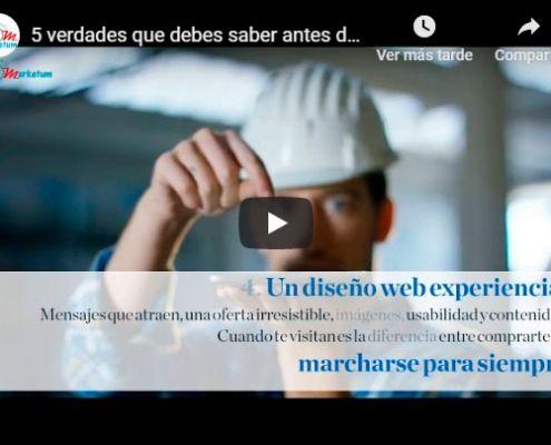 Diseño web madrid - Video